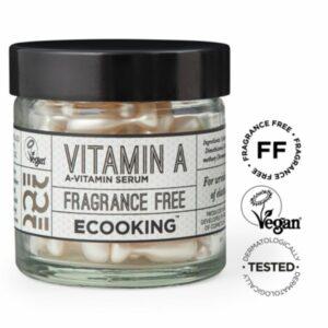 Ecooking Vitamin A Serum In Capsules – seerumikapselit 60 kpl