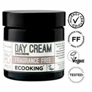 Ecooking Day Cream Fragrance Free – päivävoide 50 ml
